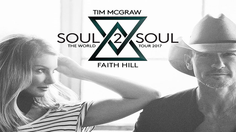 Faith Hill & Tim McGraw Soul2Soul World Concert Tour Summer 2017 VIP Tickets Canada www.VIPTicketsCanada.ca