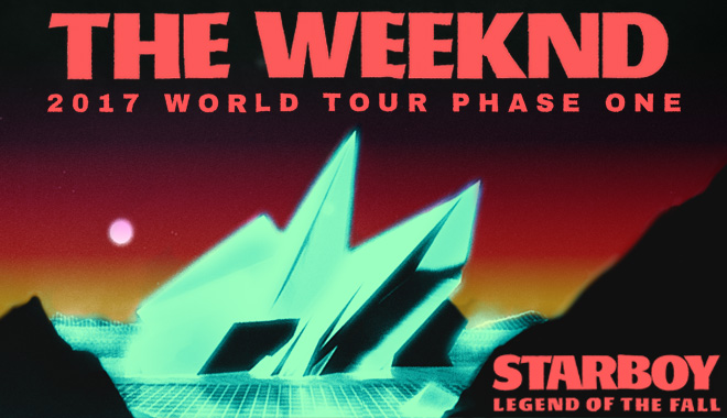 The Weeknd Starboy Concert Tour Summer 2017 VIP Tickets Canada www.VIPTicketsCanada.ca
