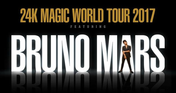 Bruno Mars 24K Magic World Concert Tour Summer 2017 VIP Tickets Canada www.VIPTicketsCanada.ca