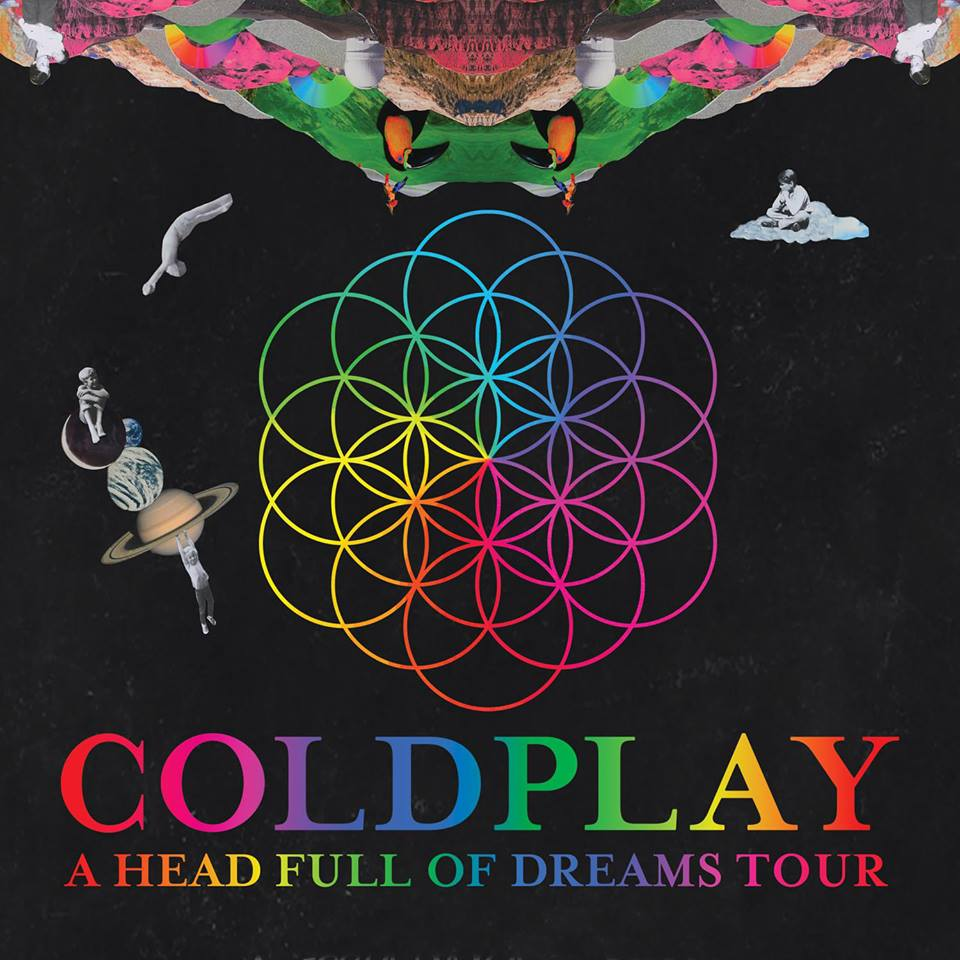 Coldplay Head Full of Dreams Concert Tour Summer 2017 VIP Tickets Canada www.VIPTicketsCanada.ca